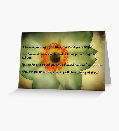 YOU ©  Greeting Card