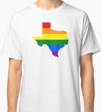 LGBT Flag of Texas  Classic T-Shirt