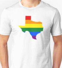 LGBT Flag of Texas  T-Shirt