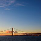 The Forth Road Bridge by Lynne Morris