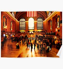 Chaos in Grand Central Poster