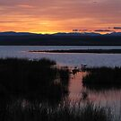 Easter Sunset on Freezout by Ken McElroy