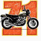 Kawasaki Z1- The widow maker by Cimbart