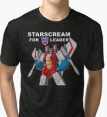 Starscream For Decepticon Leader Tri-blend T-Shirt