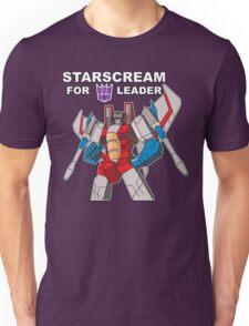 Starscream For Decepticon Leader Unisex T-Shirt