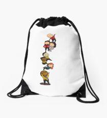 TNG Crew Chibi-style Drawstring Bag