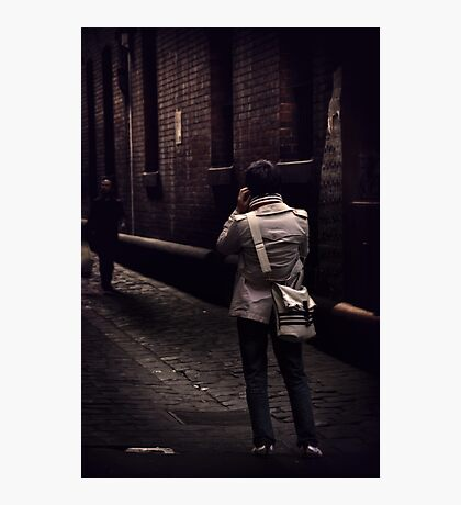Chance Encounter Photographic Print