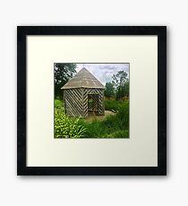 Prairie Shack Framed Print