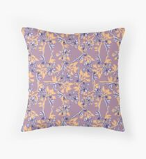 Floral Fanatic One Throw Pillow