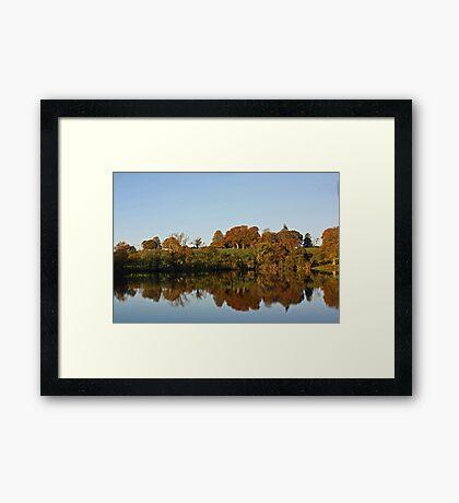 Derries Lake in Autumn #2 Framed Print