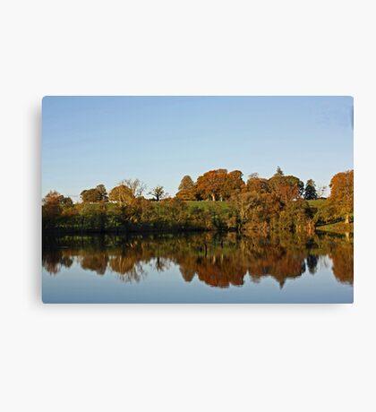Derries Lake in Autumn #2 Canvas Print