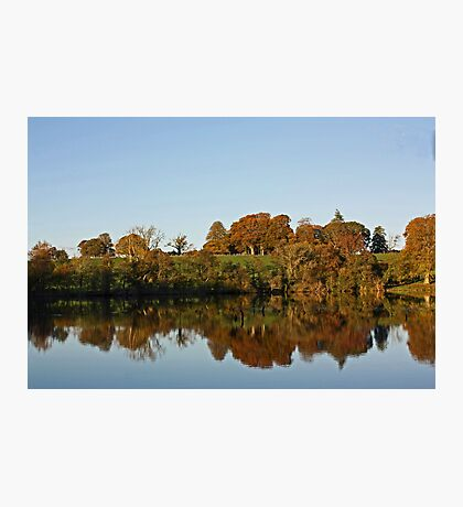 Derries Lake in Autumn #2 Photographic Print