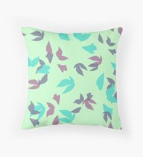 Leaf Scatter One Throw Pillow