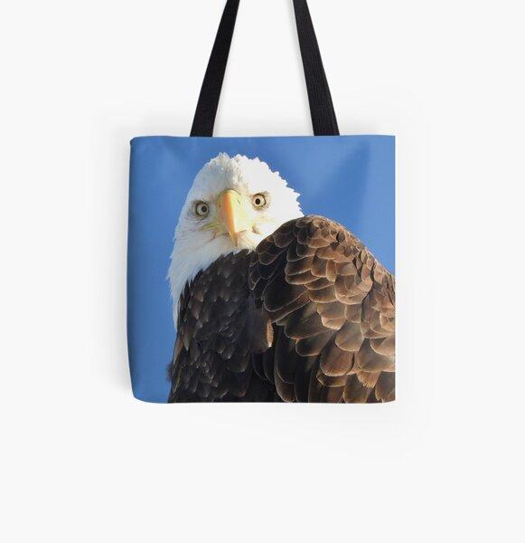 Bald Eagle All Over Print Tote Bag