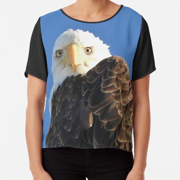 Bald Eagle Chiffon Top