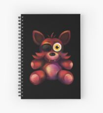 Five Nights at Freddy's - Fnaf 4 - Foxy Plush Spiral Notebook