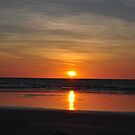 Sunset on Cable Beach by Karina Walther
