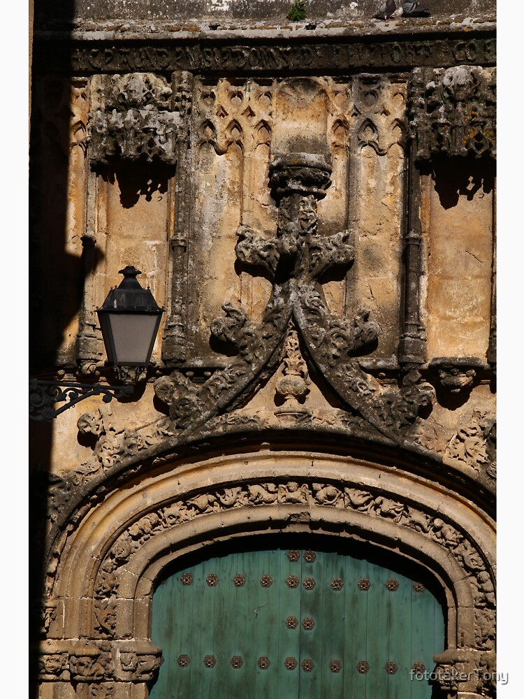 Detail of Arcos Church Entrance by fototakerTony