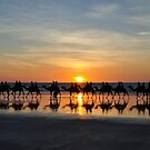 Ships of the Desert, Cable Beach 1 by Karina Walther