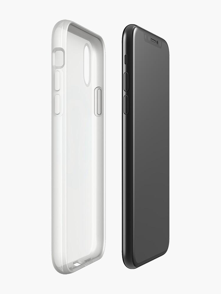 Vista alternativa de Funda y vinilo para iPhone Logo azul de lululemon