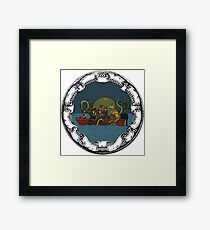 Fat Freddy's True Story Framed Print