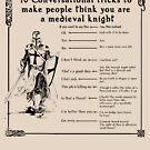 Sprich wie ein mittelalterlicher Ritter von Grundelboy