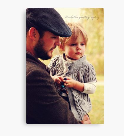 Time With Daddy Canvas Print