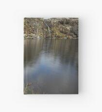 Reflection Of Feeling Blue Hardcover Journal