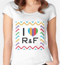 I heart Rodan+Fields Women's Fitted Scoop T-Shirt