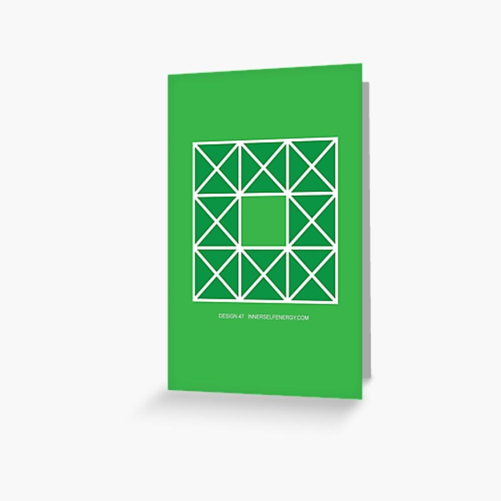 Design 47 Greeting Card