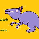 Party Dinosaur by sneercampaign