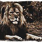 Lion by Heike Nagel