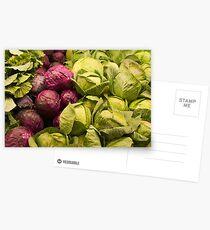 Fresh Produce Postcards