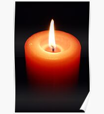 Candle Glow Poster
