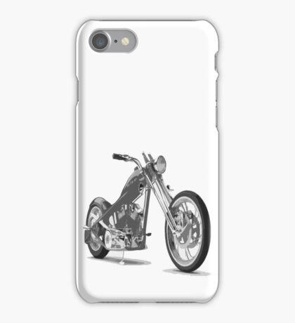 distorted chopper iPhone Case/Skin