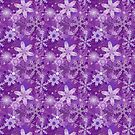 Snowflakes in Purples by Sarinilli