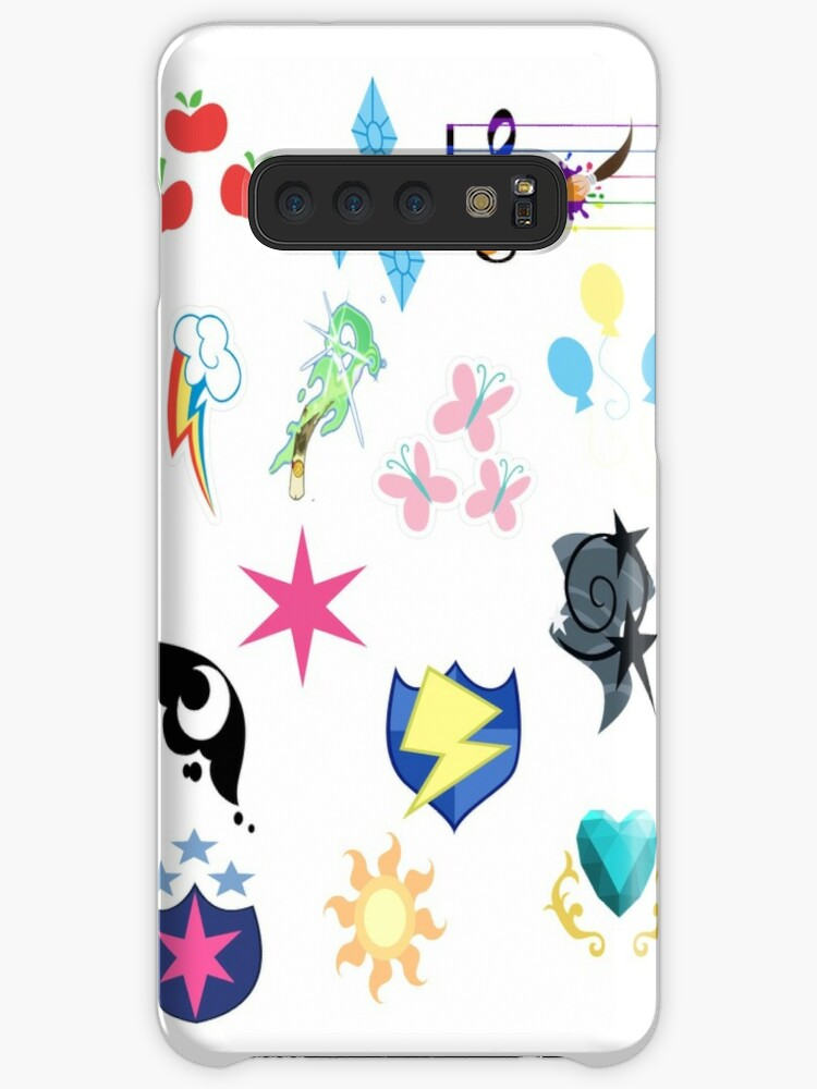 'My Little Pony Cutie Marks' Case/Skin for Samsung Galaxy by H-C-D