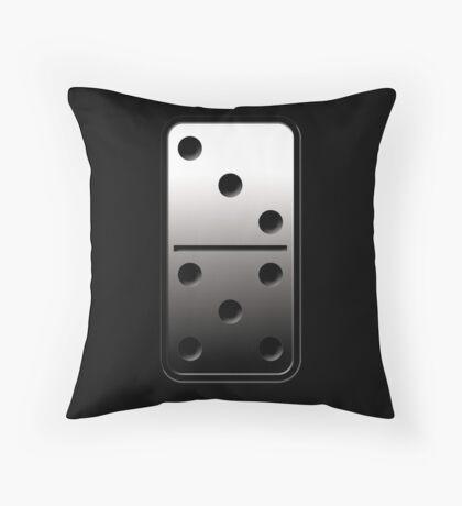 steel domino  Throw Pillow