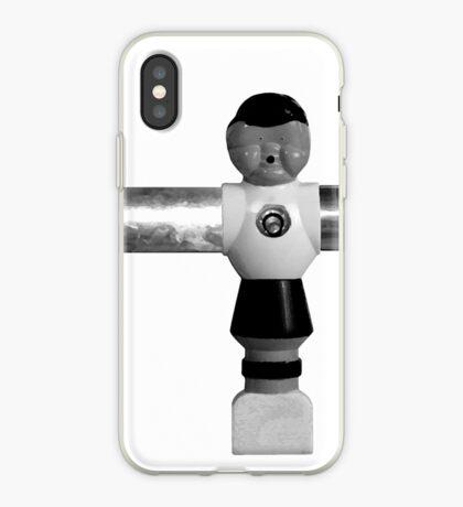the foosball guy iPhone Case