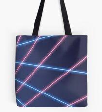80s Laser Background Tote Bag