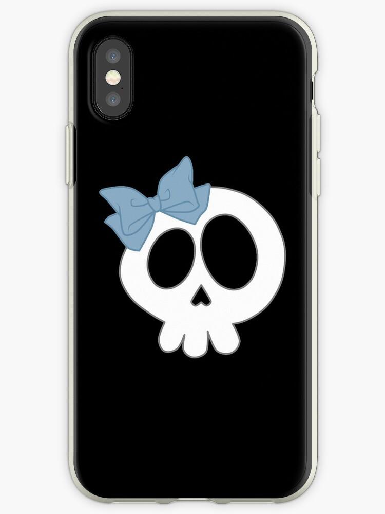 Bogenschädel Blau von DeliriumLina