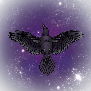 Cosmic Corvids by FinsArt