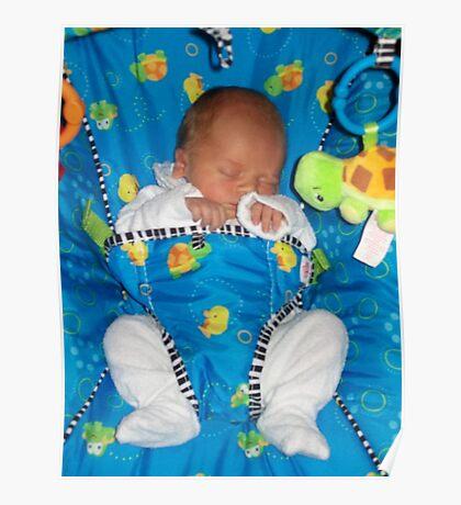 sleepy baby Poster