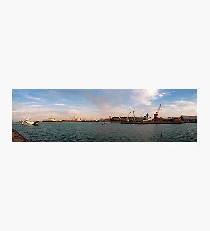 Townsville Port - From the Breakwater Photographic Print