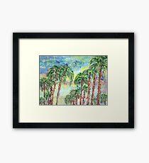 Skyway in Tampa-Bay Framed Print