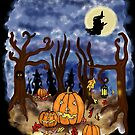 Witchy Halloween by melasdesign