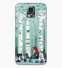 Die Birken Hülle & Klebefolie für Samsung Galaxy