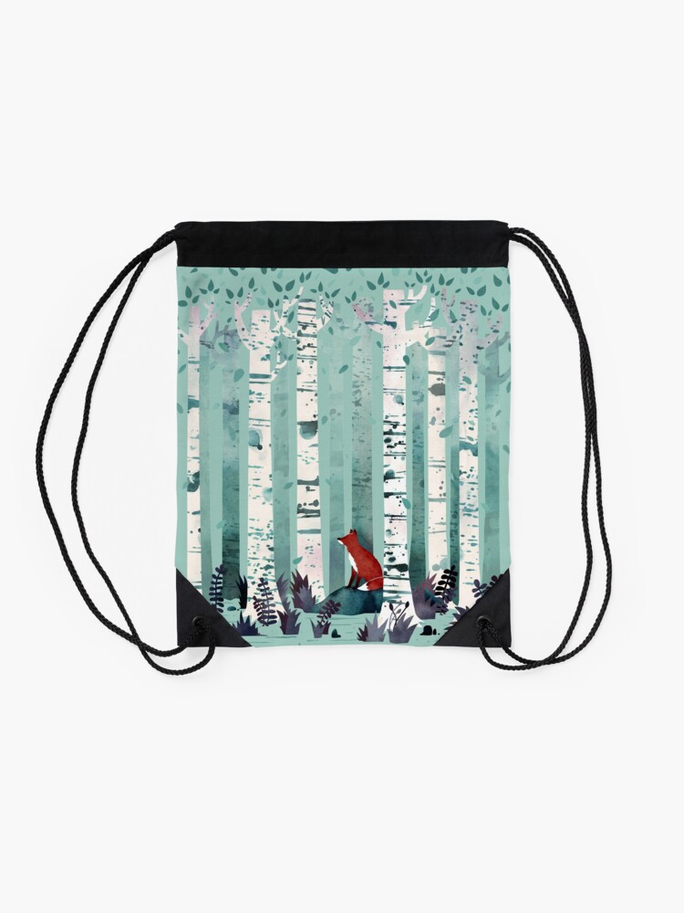 Alternate view of The Birches Drawstring Bag