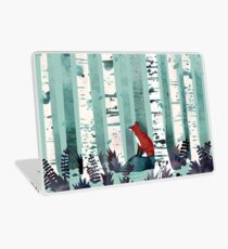The Birches Laptop Skin