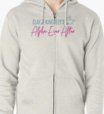 Alpha Ever After Zipped Hoodie